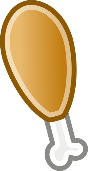 Mutton clipart chicken drumstick Chicken clip ( Open svg
