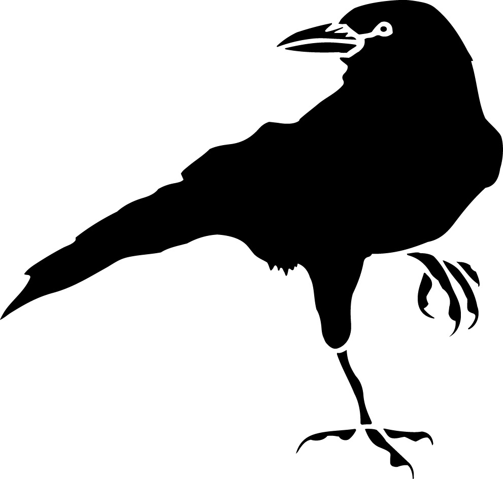 Drawn raven vintage Free on Clipart Download Clipart