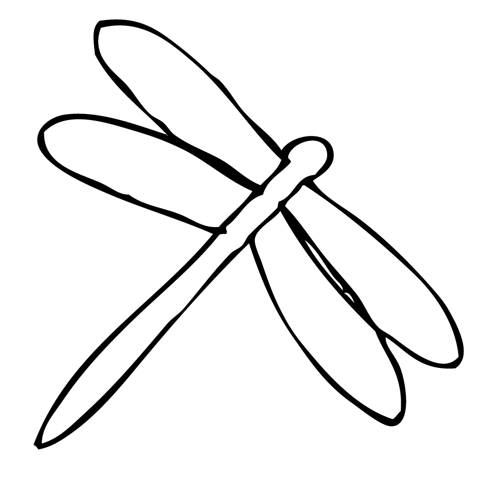 Simple clipart dragonfly On Dragonfly Art Clipart Art