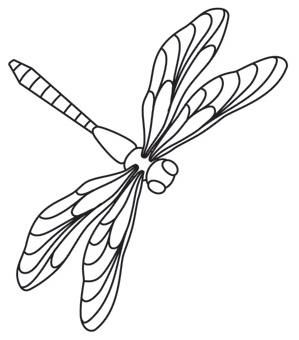 Drawn butterfly dragonfly Pinterest art and 25+ decor