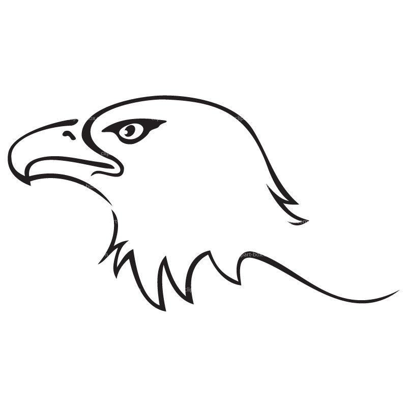 Eagle clipart line drawing Clip BIRTHDAYS Pinterest eagle Google