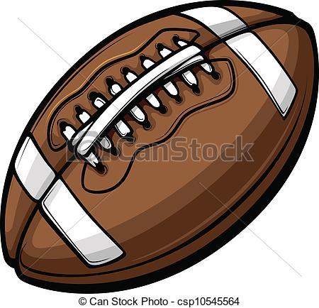 Drawing clipart football American American Vector Art Image