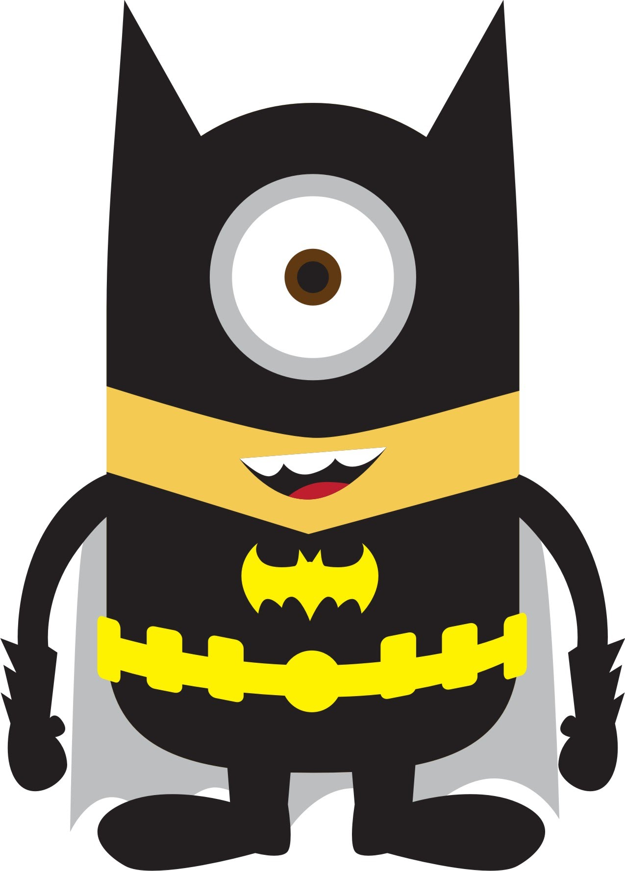 Batman clipart minion #1