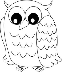 Color clipart owl Owl Drawing owl cartoon little