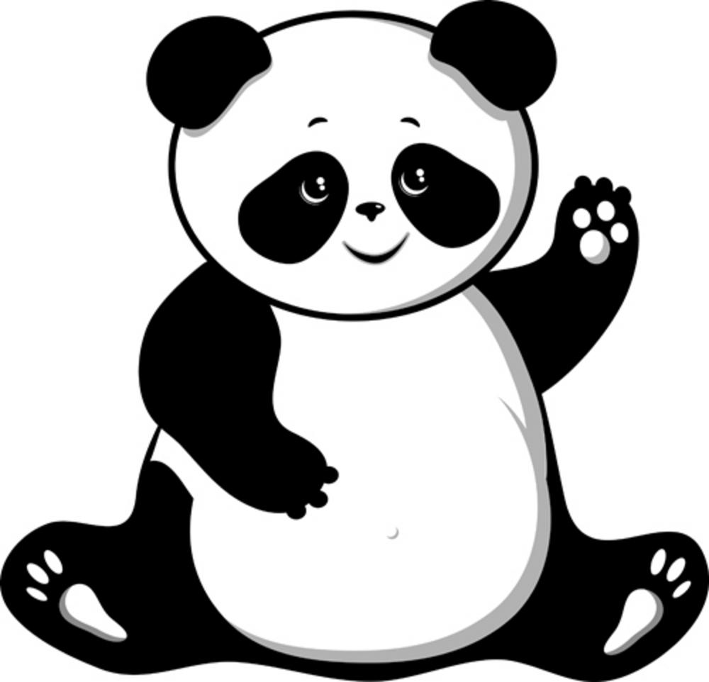 Simple clipart panda Drawing Clipart Images Clipart Panda