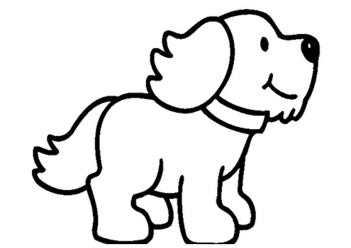 Pet clipart coloring picture Clipart clipart com Puppy Cliparting