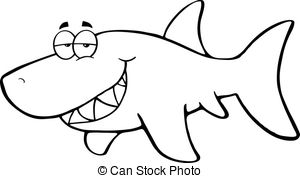 Drawn shark vintage Shark Cartoon royalty  Shark