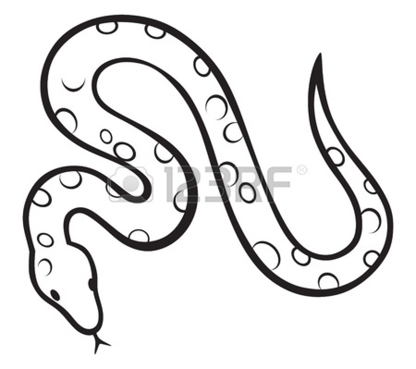 Drawn snake carton Clip Kids White Clipart And