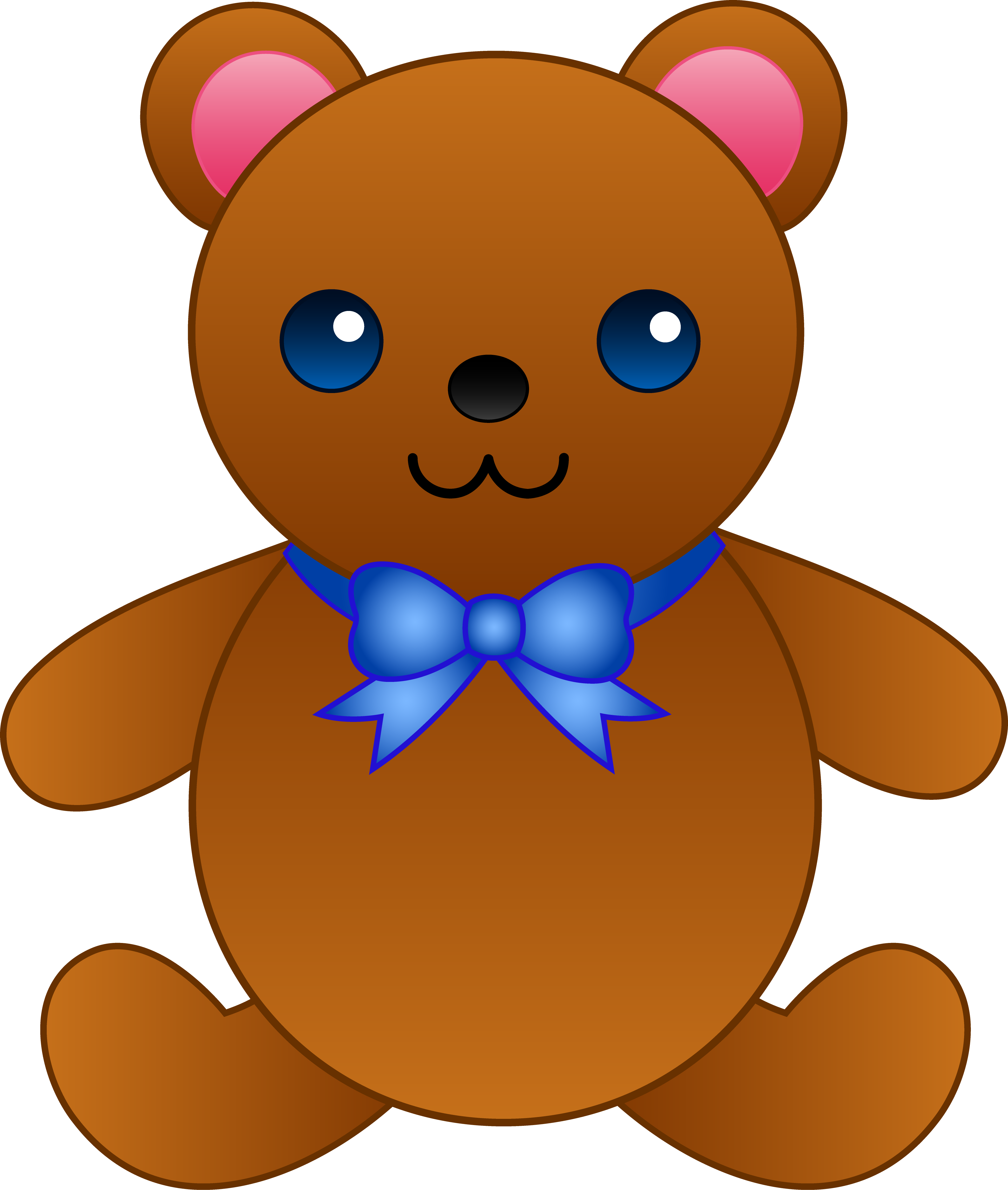 Brown Bear clipart teddy bear Cartoon Bear on Cute Drawing