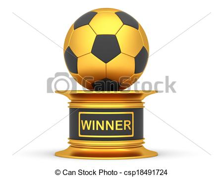 Trophy clipart football trophy A cup csp18491724 on trophy