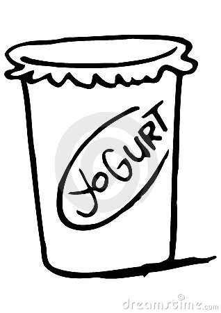 Yogurt clipart black and white Clipart Clipart Free Yogurt yogurt%20clipart