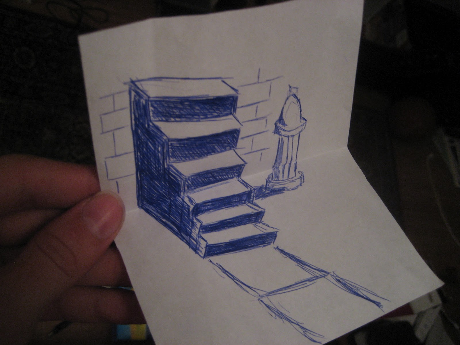 Drawn 3d 3D Does in Art: 3D