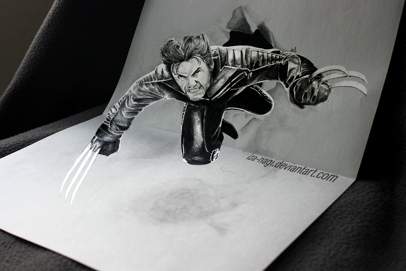 Drawn paper mind blowing #12