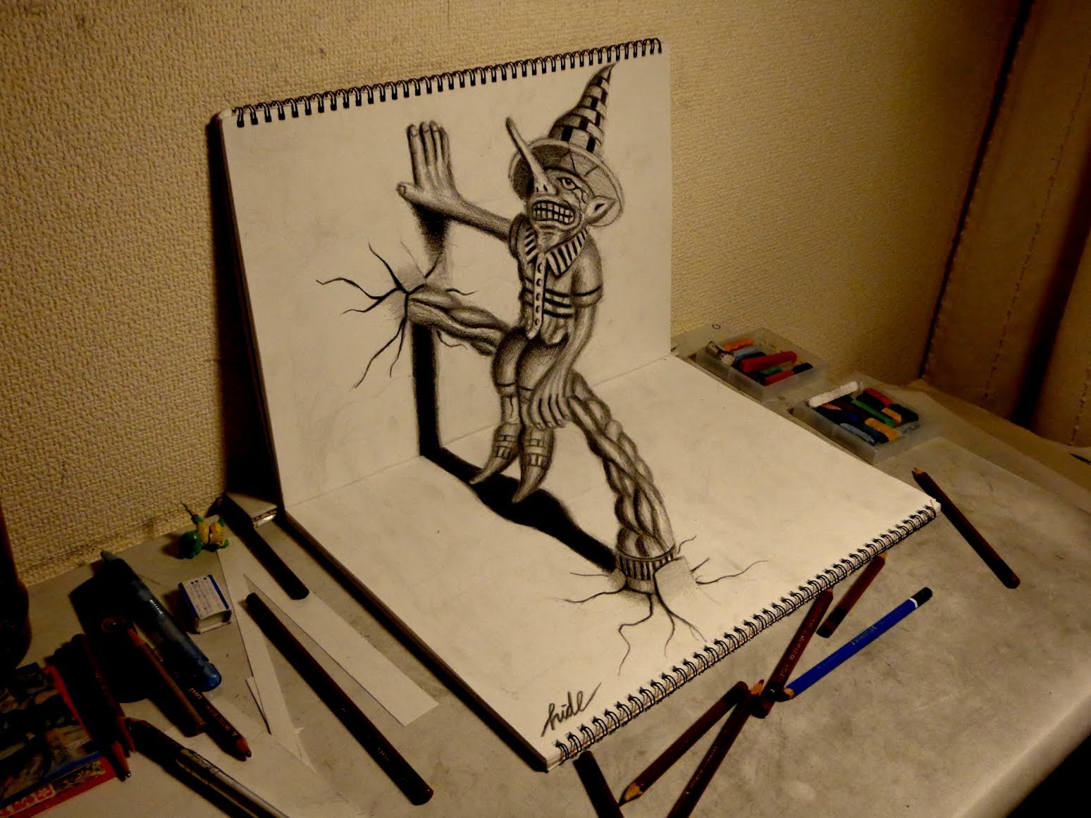 Drawn 3d art #6
