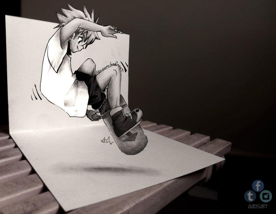 Drawn 3d art 3d animation #14