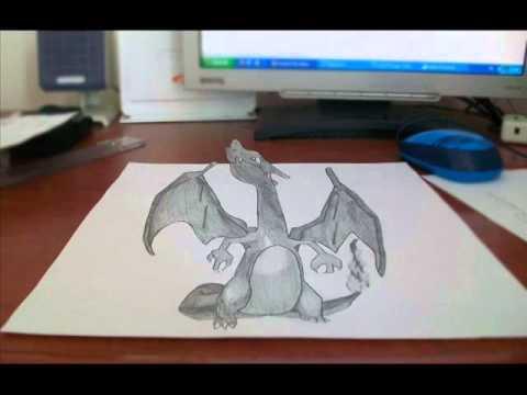 Drawn 3d art 3d animation 3D Art 3D to (Charizard