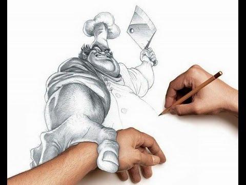 Drawn 3d art 3d animation #8