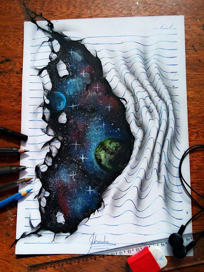 Drawn saying Ideas on drawings  3d