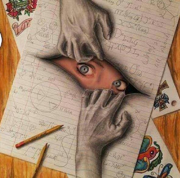 Drawn 3d art awesome Pin on 3D and on