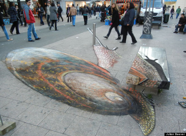 Drawn 3d art different angle #3