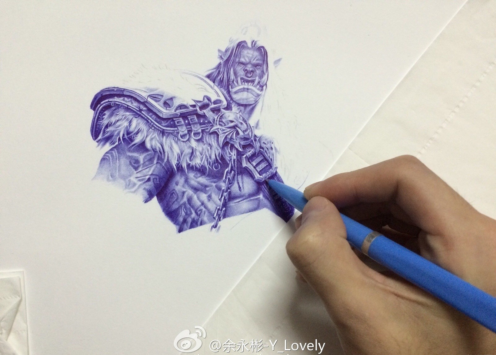Drawn 3d art epic The by whole Ballpoint were