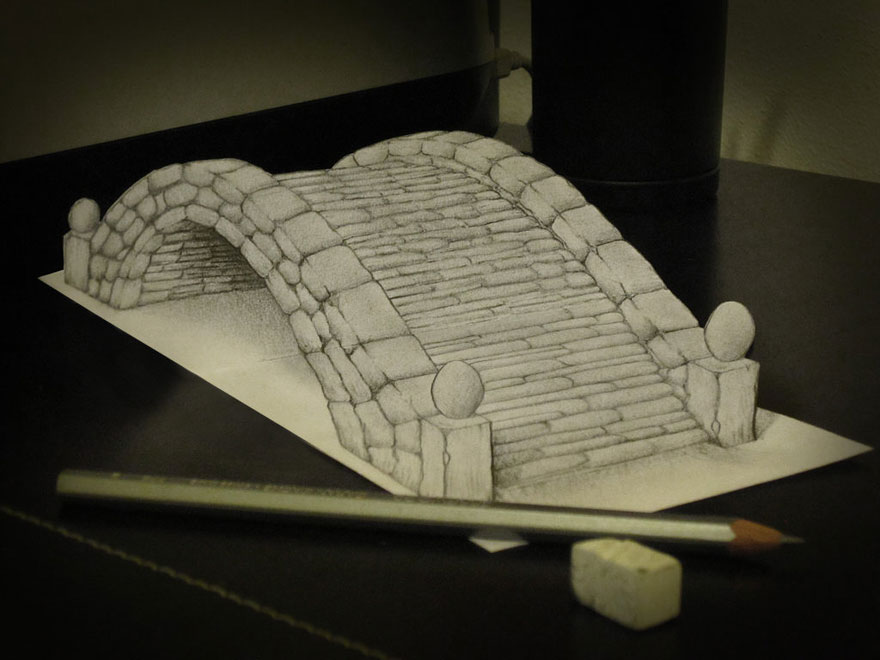 Drawn 3d art epic Drawings  Bored by Pencil