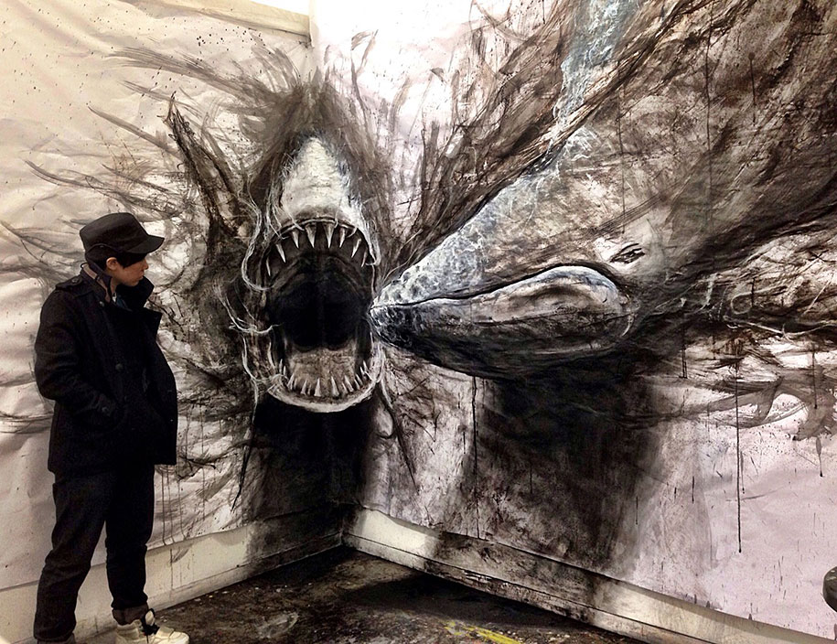 Drawn 3d art fiona tang Life  Sized As Animals