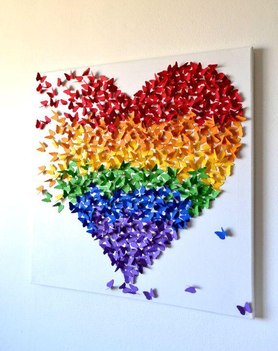 Drawn 3d art heart Menina art para Loja Pinterest