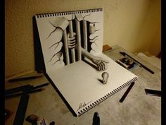 Drawn 3d art hole Drawings 3d and 3D How