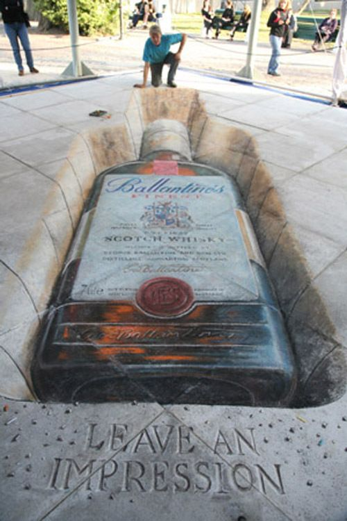 Drawn 3d art incredible #6