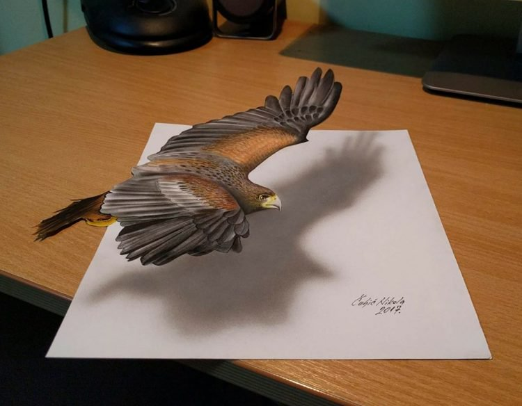 Drawn 3d art incredible #13