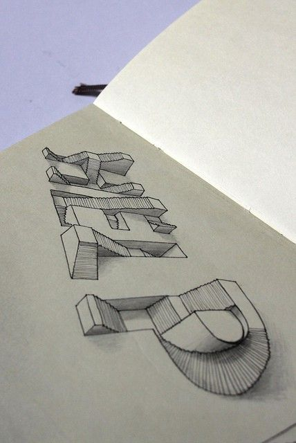 Drawn 3d art incredible #2