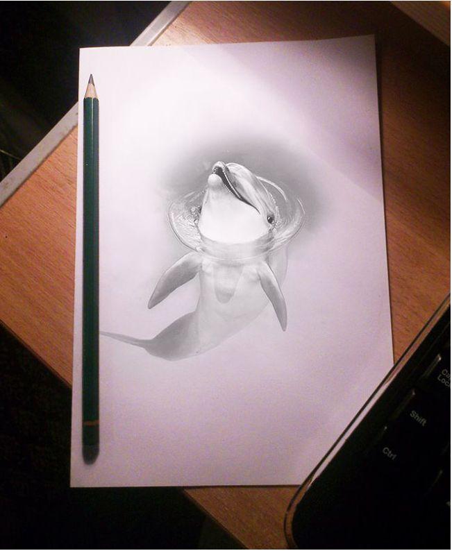 Drawn 3d art magic Art images Drawings Pencil Beautiful