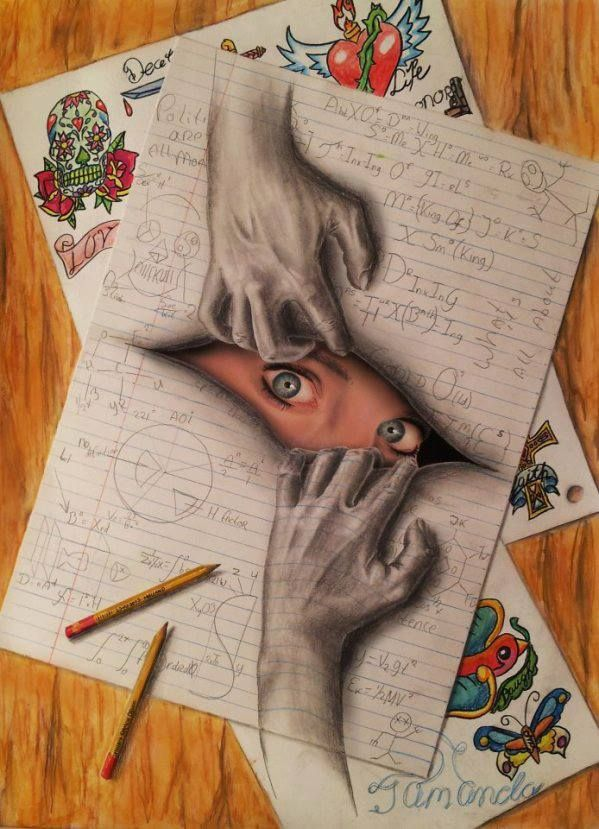 Drawn 3d art mind blowing #11