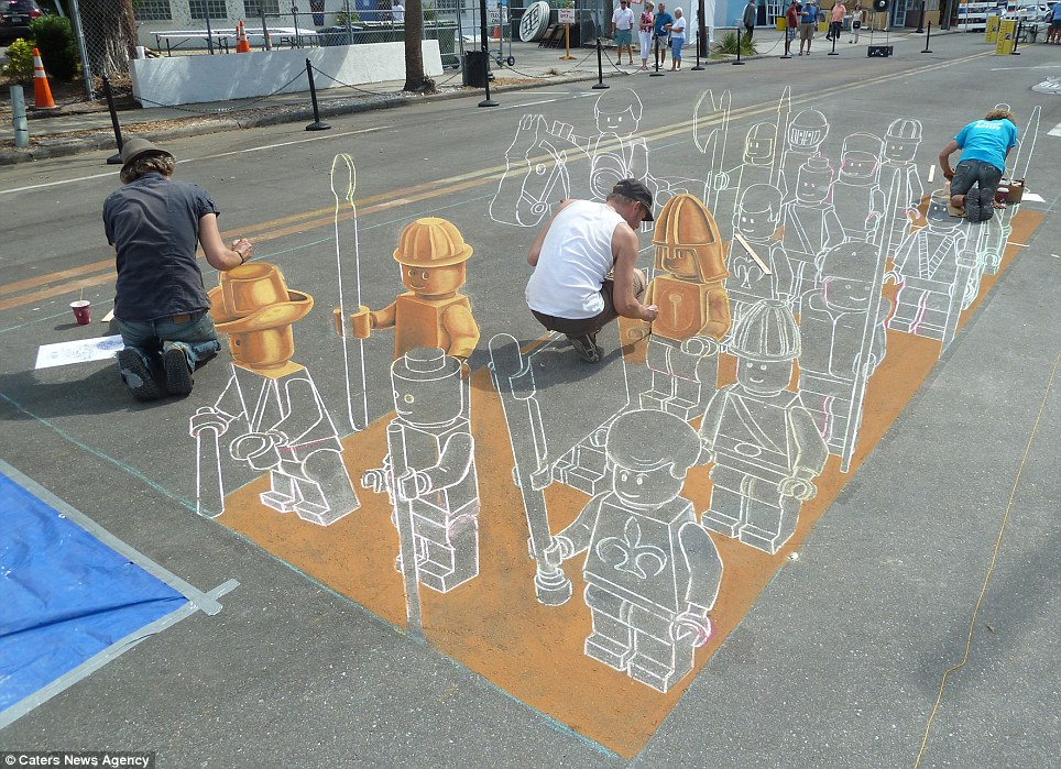 Drawn 3d art perspective Art artist set army Leon
