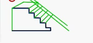 Drawn stairs simple & staircase to a «