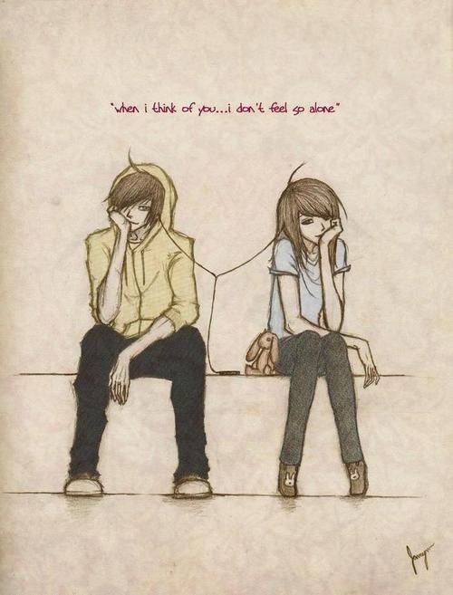 Drawn quote job Couple on Best couple Cute