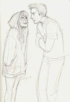 Drawn hug love  and drawings easy easy
