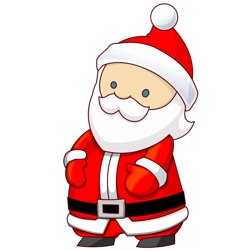 Microsoft clipart santa Popup Amy Pin Claus by