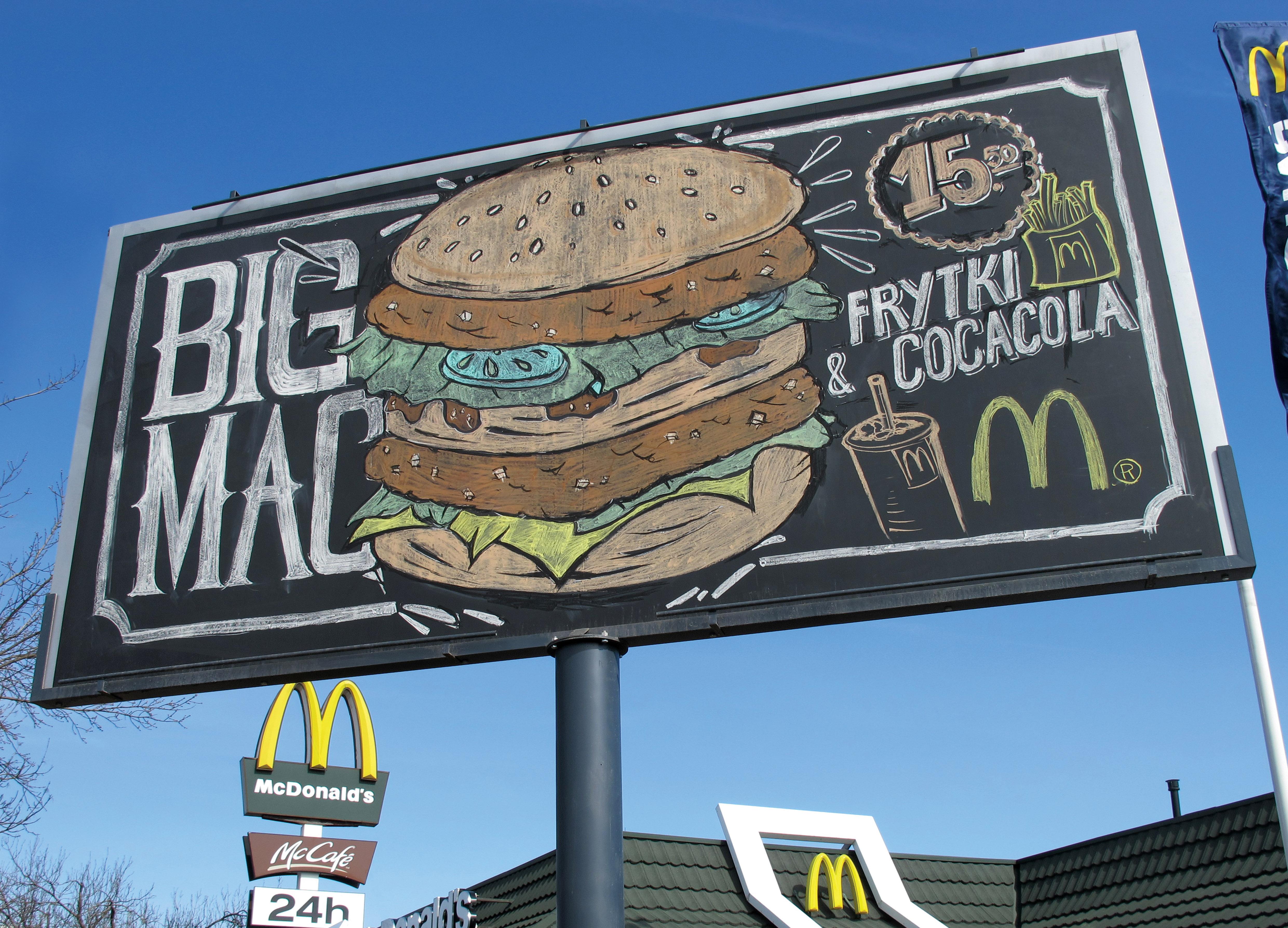Drawn advertisement McDonald's Pinterest basics Logos Warsaw