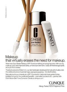 Drawn advertisement clinique Clinique Mascaras Ads: Mascara Fine