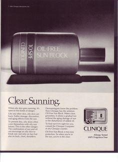 Drawn advertisement clinique Vtg & Sun Clinique photograph