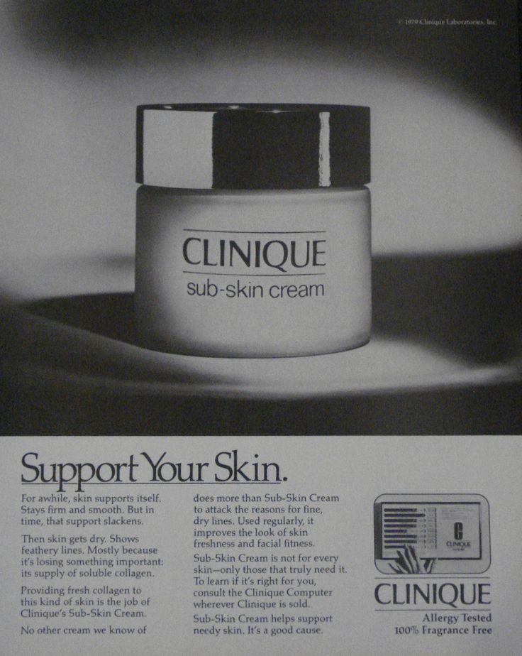 Drawn advertisement clinique Details images Print sub Cosmetics