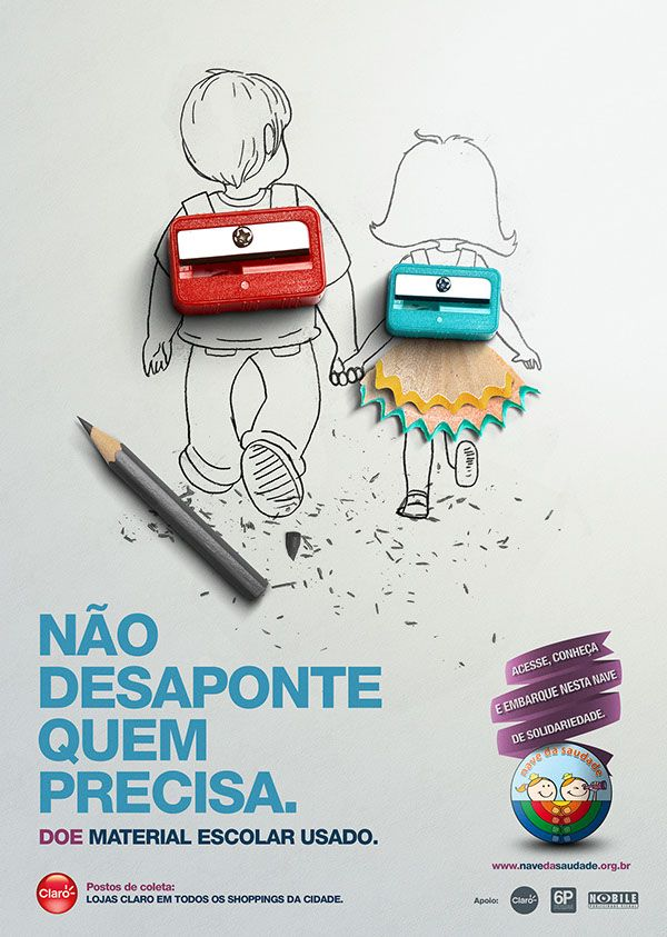 Drawn advertisement Find this advertising creative more