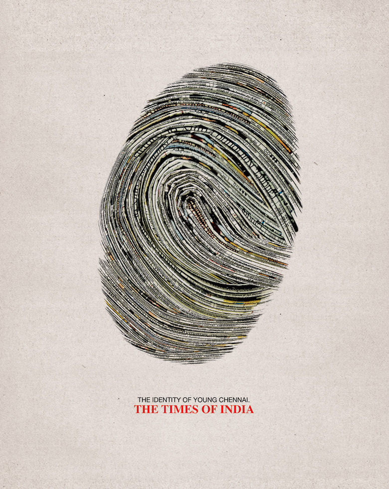 Drawn advertisement 14 The Direction Brilliant India: