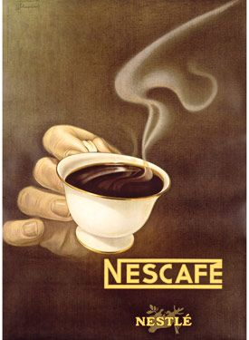 Drawn advertisement NESCAFÉ coffee images illustration publicidad