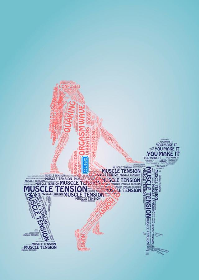 Drawn advertisement magazine 70 Stunning Durex Typography of