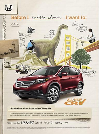 Drawn advertisement print advert V driving serious so a