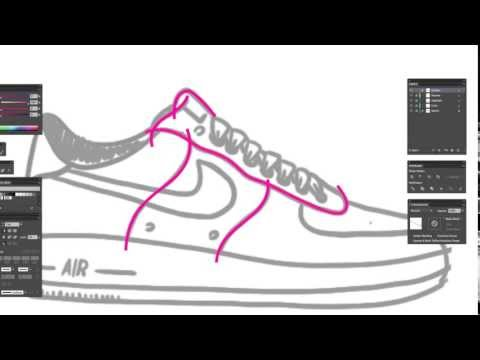 Drawn shoe unique Shoes draw to  YouTube