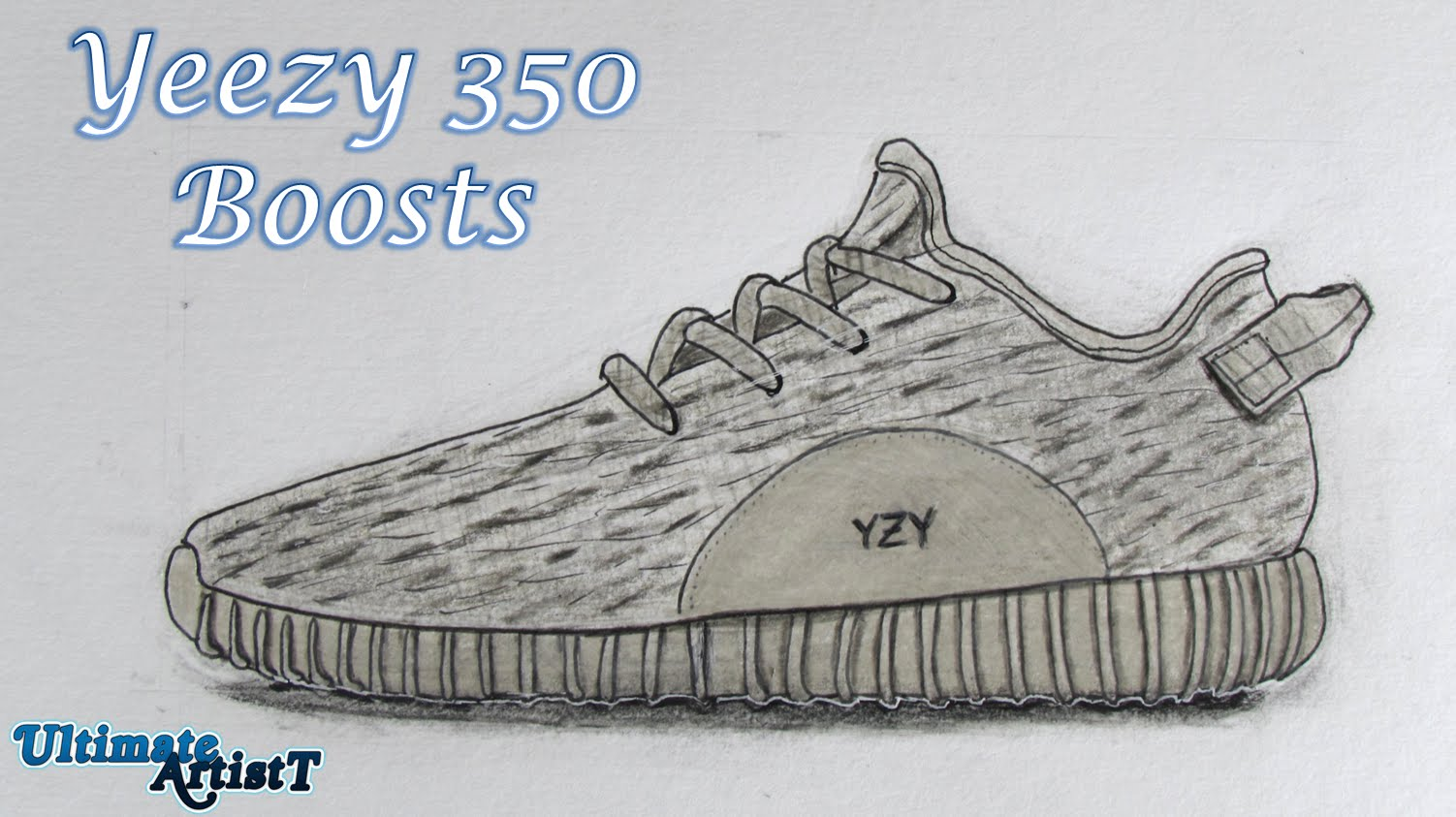 Drawn shoe realistic (Speed Shoes Drawing) 350 Shoes